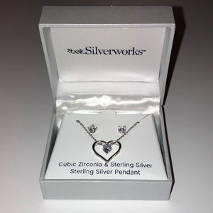 Belk Silverworks - Cubic Zirconia/Sterling Silver